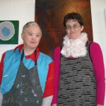 2011 IHC Art Award participants Paul Griffith and Cherie Mellsop are readying work for the competition next month