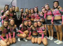 All Star Stormz cheerleaders - The Silver Champions at at American Cheerleading Showcase