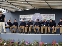 Bachelors take the stage at Fieldays.