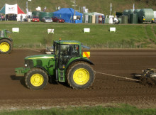 Tractor pull at Fieldays