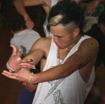 Cruze Nahu-Nikau of Ngaruawahia dance group gets ready for Auckland Hip Hop competition.