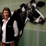 Milking it: Jenny Jago and Brian Dela Rue of the Greenfield Team are pleased their hard work has been recognised with a Kudos awards nomination.