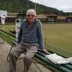 Good life: Geoff Howlett still plays a full bowls season at Taupiri.