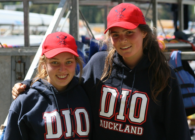 BUSY WEEK: Jessica Doughty (left) and Savannah Walker had a packed Maadi Regatta. Photo: Corey Rosser