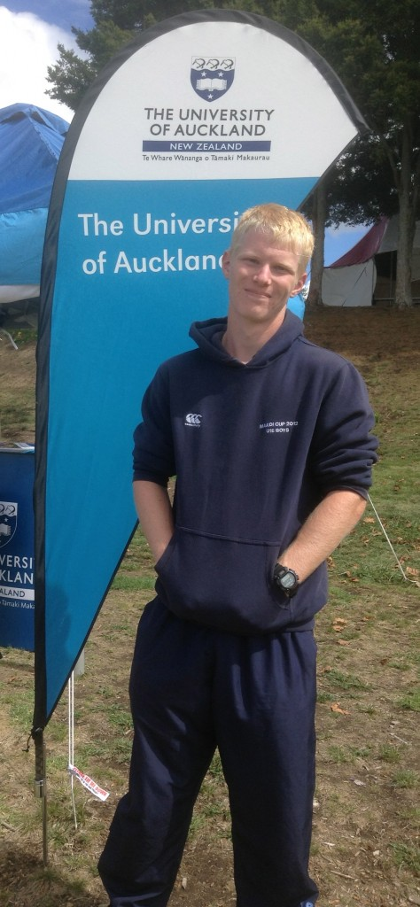 AUCKLAND AMBITION: Matthew Bennett of Rotorua's Western Heights Boys' hopes to row and study for Auckland University. Photo: Matthew Robinson