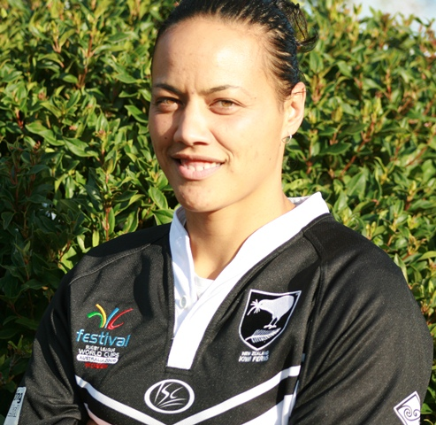 FULLTIME: Honey Hireme will captain the Kiwi Ferns in her final year. Photo: Corey Rosser