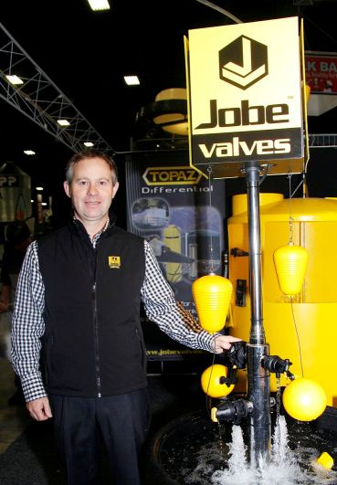 NICE SURPRISE: Robin Jobe of Jobe Valves didn't know his site had taken out a prize. Photo: Lauren Bovaird