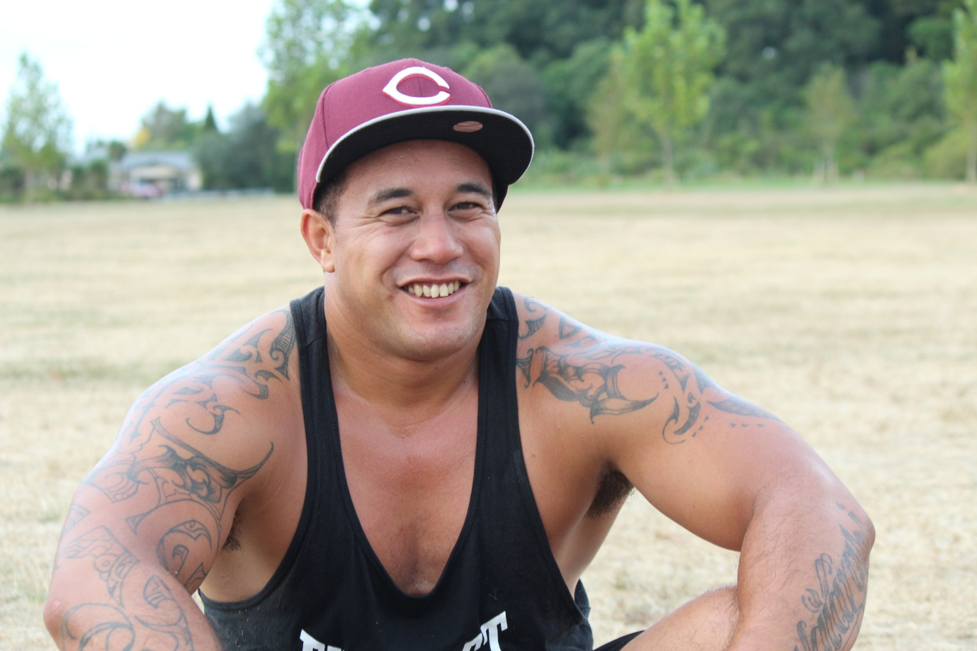 Hemi Quinn believes offering free sessions is a step towards improving Māori health. Photo: Donna-Lee Biddle