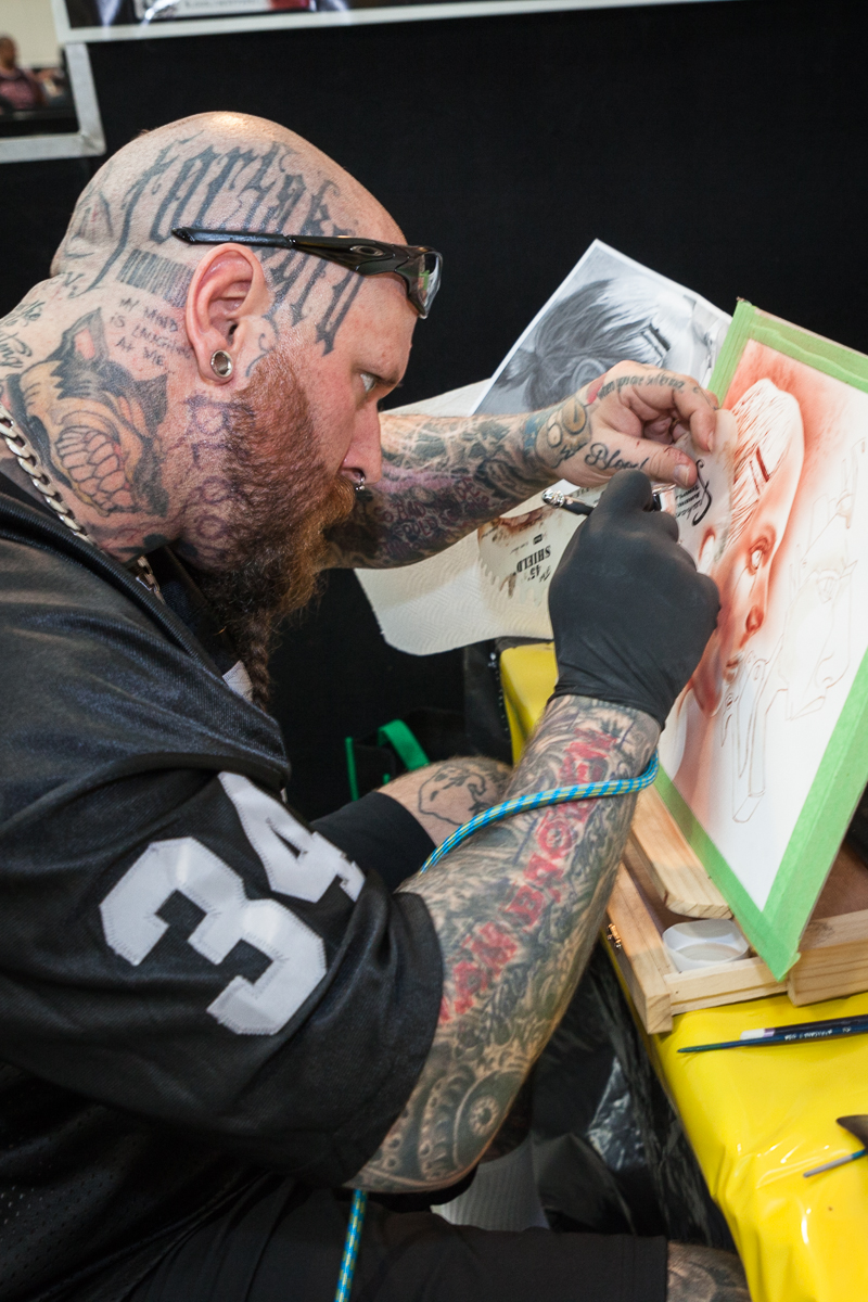 Artist Draws First Blood The Waikato Independent
