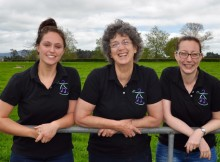 MUSIC MOVES ME TRUSTEES: Kath Woodly (centre) and Vicki Jones (right) with fellow trustee Helen McGann. Photo supplied.