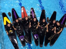 New Zealand canoe polo teams are heading to Europe for the world champs. Photo: Rachel Binning