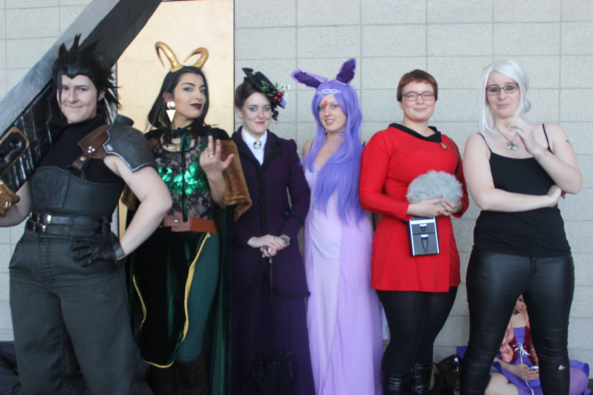 Fans dressed in cosplay at this years Auckland Armageddon Expo.