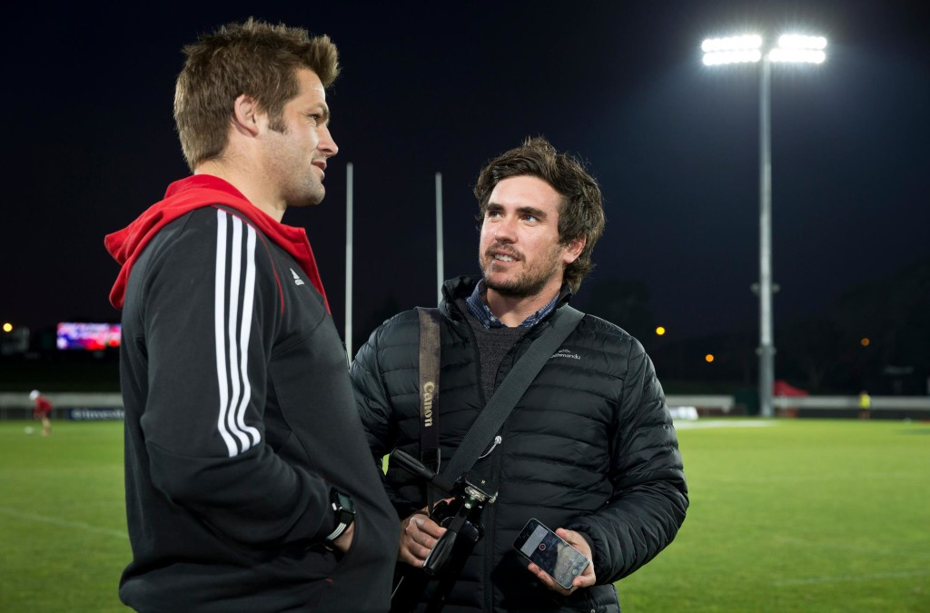 Fun job: Interviewing Richie McCaw